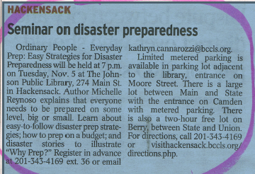 Seminar on Disaster Preparedness news