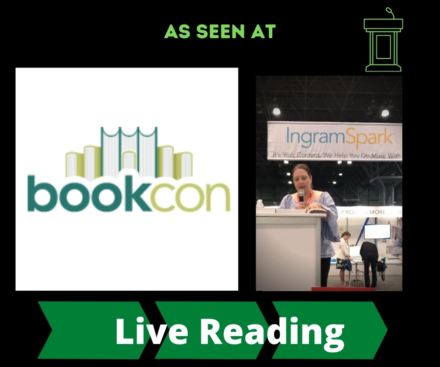 AS SEEN AT BookCon 2018