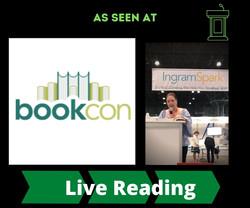 AS SEEN AT BookCon 2018