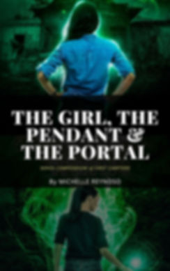 the girl, the pendant & the portal_serie