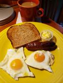 Breakfast is my fave meal. Mmm