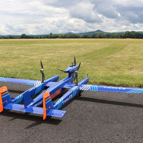 Thales announced the first flight of UAS100!