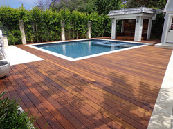 OUTDOOR DECKING - SWIMMING POOL