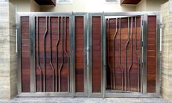 OUTDOOR DECKING - GATE APPLICATION