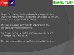 FLOOR-TEX LUXURY GRASS CARPETS