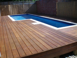 OUTDOOR DECKING - SWIMMING POOL AREA