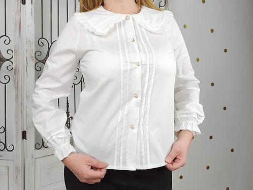 Camisa Blanca Babero Sonia