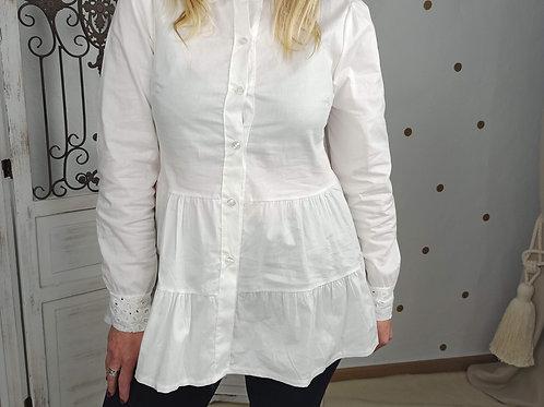 Camisa Blanca Volantes Clara