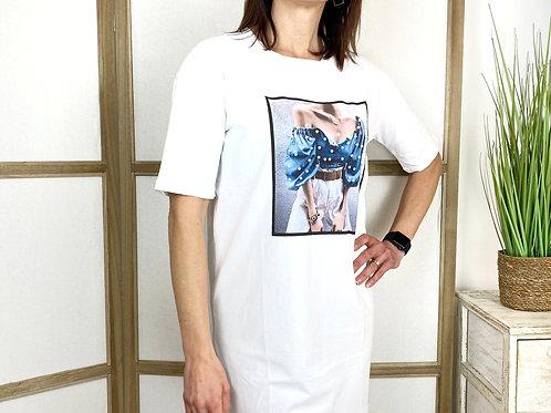 Vestido Camiseta Carlina