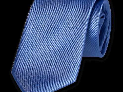 Corbata Azul Estrecha