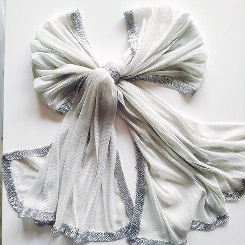 Pañuelo de Fiesta Plata