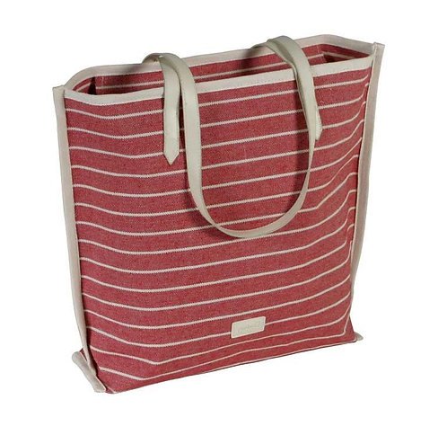 Bolso Shopper Rayas