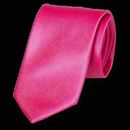 Corbata Fucsia Estrecha
