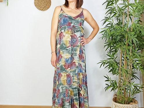 Vestido Estampado Grana Katia