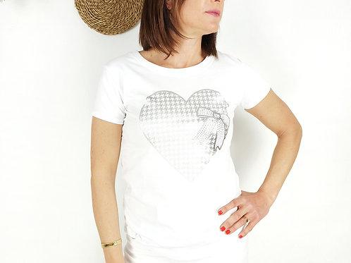 Camiseta Corazón Pilar