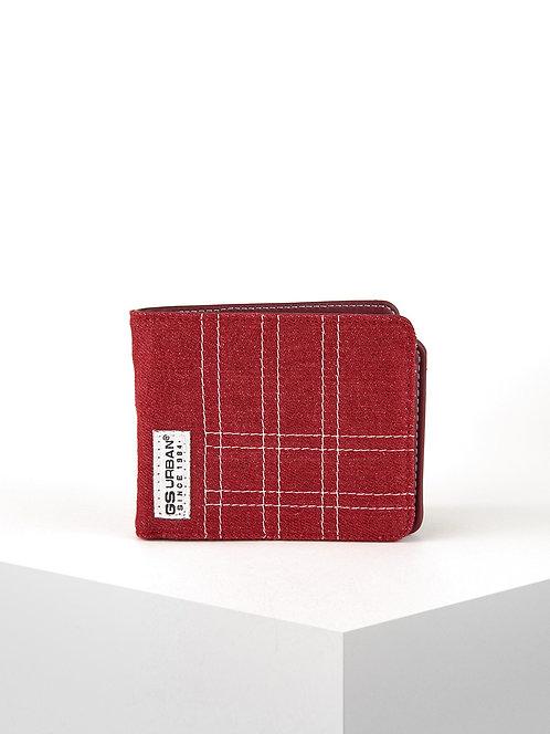 Billetero Jeans Red