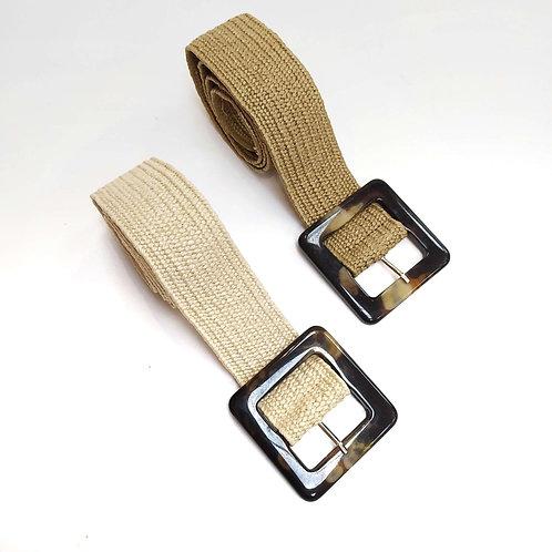 Cinturón Elástico Rafia Carey