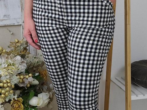 Pantalones Elásticos Cuadros Vichí Nagore