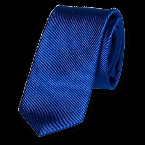 Corbata Azul Klein Estrecha
