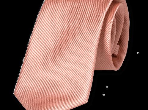 Corbata Rosa Estrecha