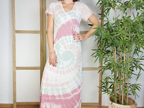 Vestido Tie Dye Carola Rosa