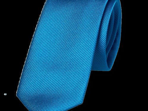 Corbata Azul Oceáno Estrecha