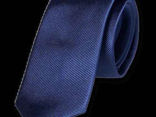 Corbata Azul Marino Estrecha
