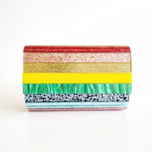 Clutch Acetato Multicolor