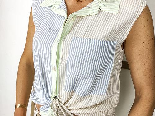 Camisa Rayas Colores Laura