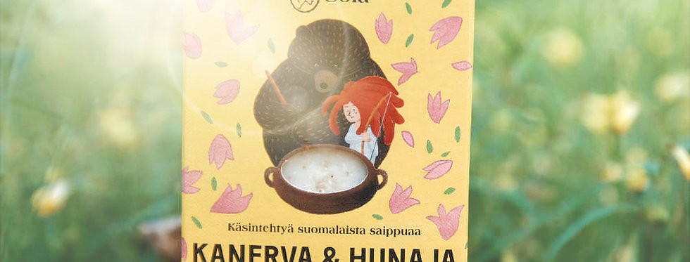 Kanerva & Hunaja - Organic Mild Scented Heather & Honey soap
