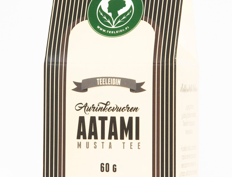 """Aurinkovuoren Aatami """"Adam of the Sun Mountain"""" Black Tea"""