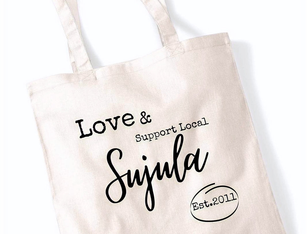 Custom Sujula Cotton carry bag (41*37cms - 16*14Inches)
