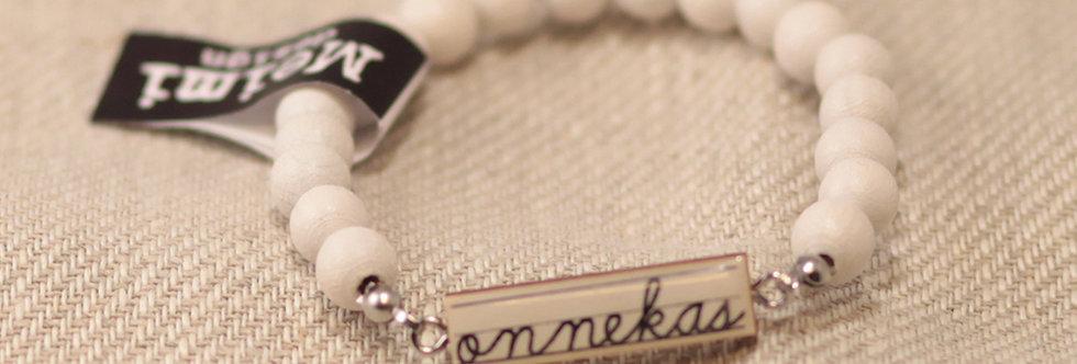 "Onnekas ""Lucky"" - Pearl bracelet - white"