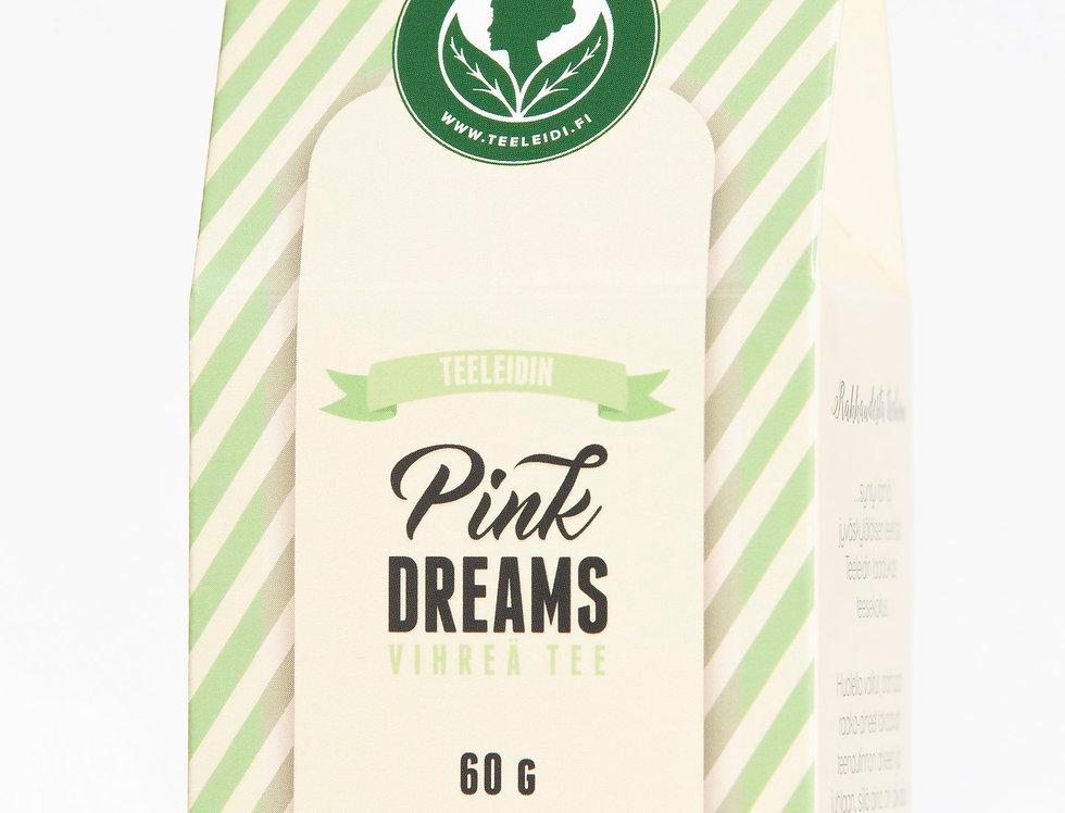 Pink Dreams Green Tea