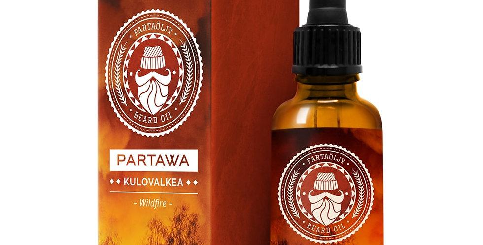 Beard oil Kulovalkea - Wildfire