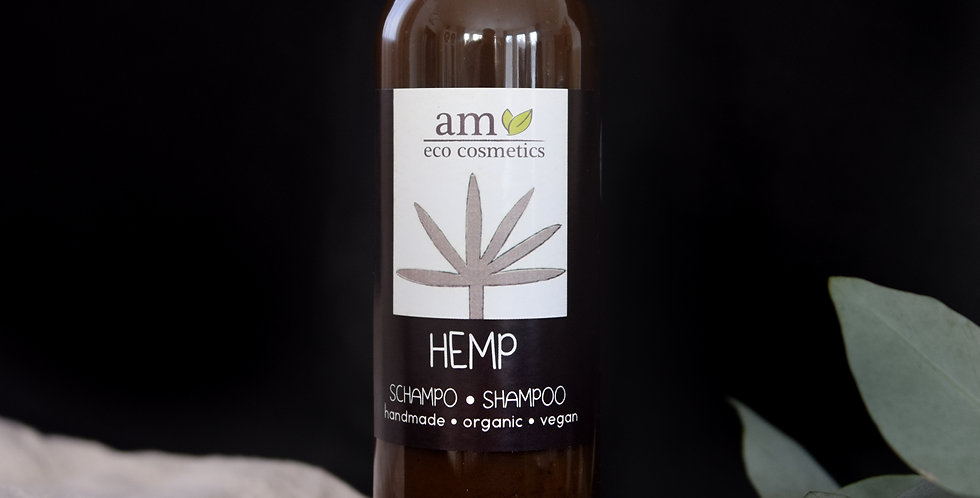 Organic Hemp Shampoo for dry and normal hair