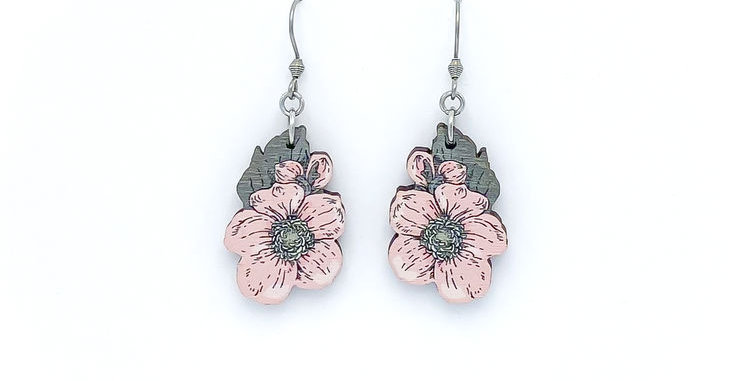 Syysvuokko earrings, small
