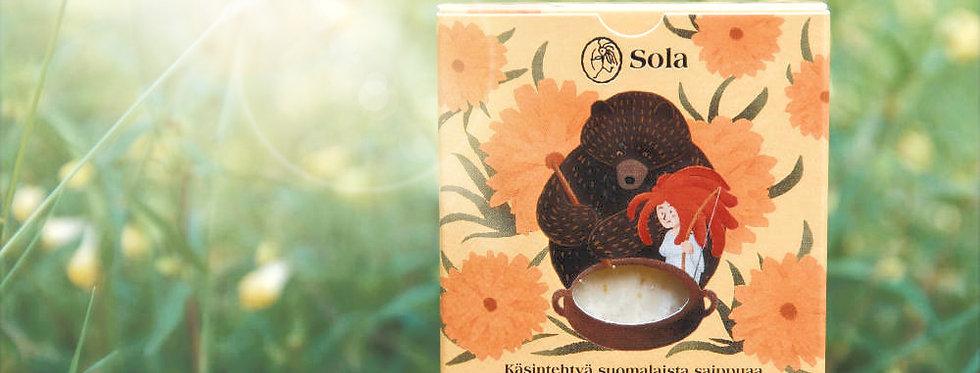 Kehäkukka - Organic Unscented Marigold soap - Vegan