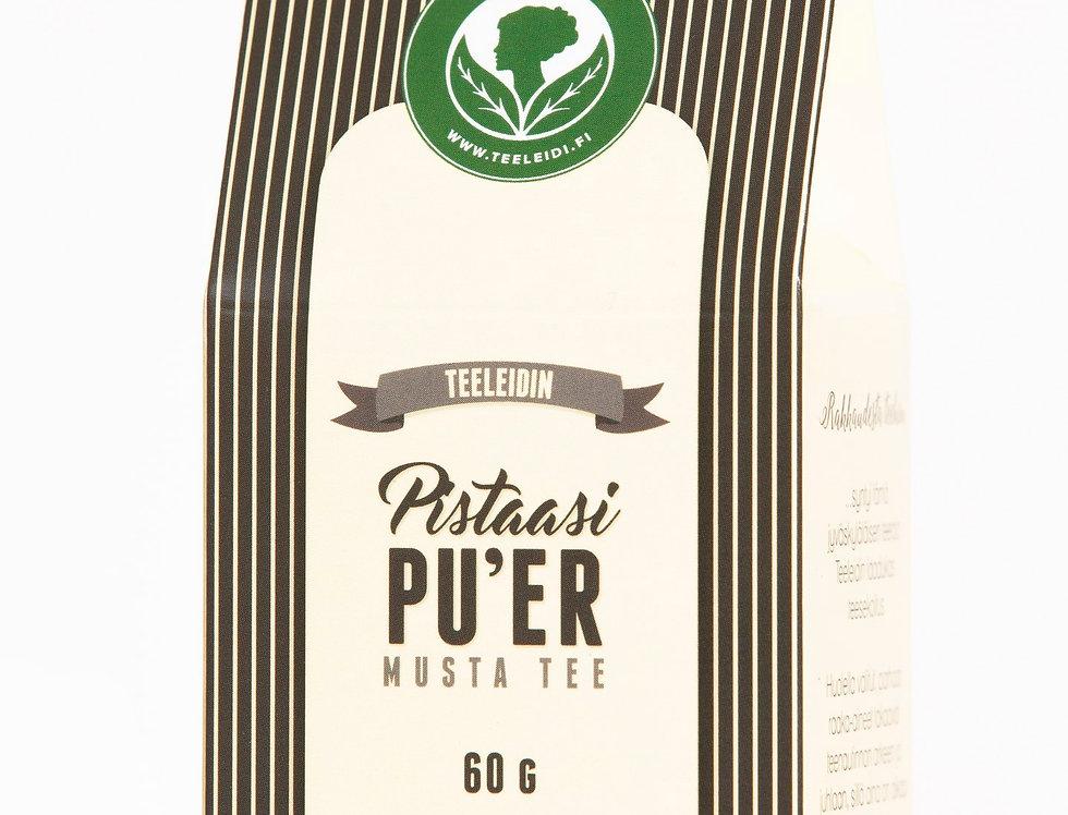 """Pistaasi Pu ´erh """"Pistachio Pu ´erh"""" Black Tea"""