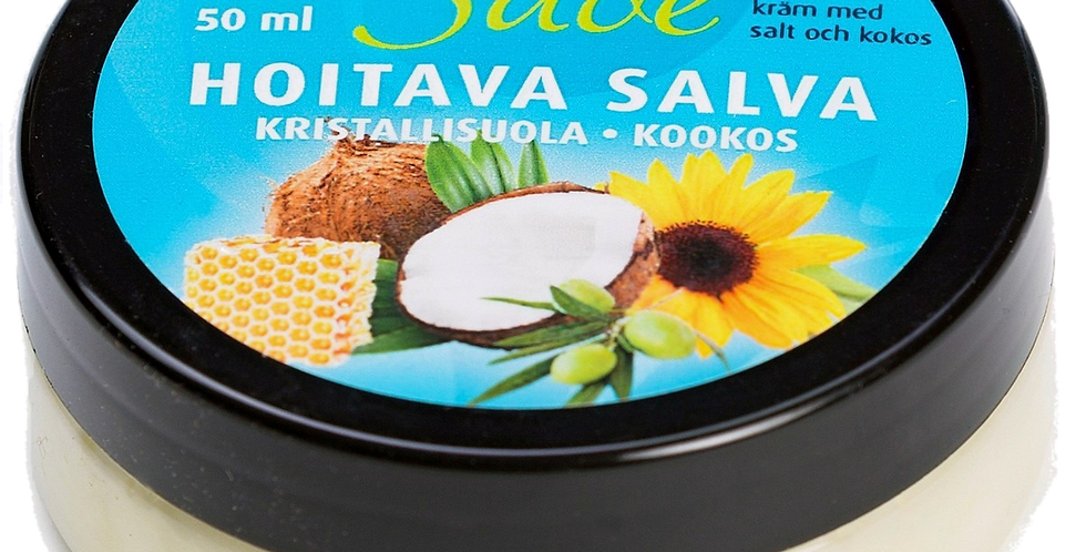 Coconut infused Crystal salt ointment/balm