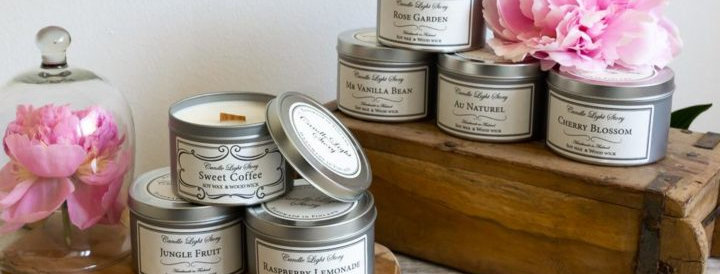 Candle Light Story - Scented Soy candles