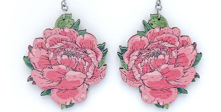 Pioni earrings