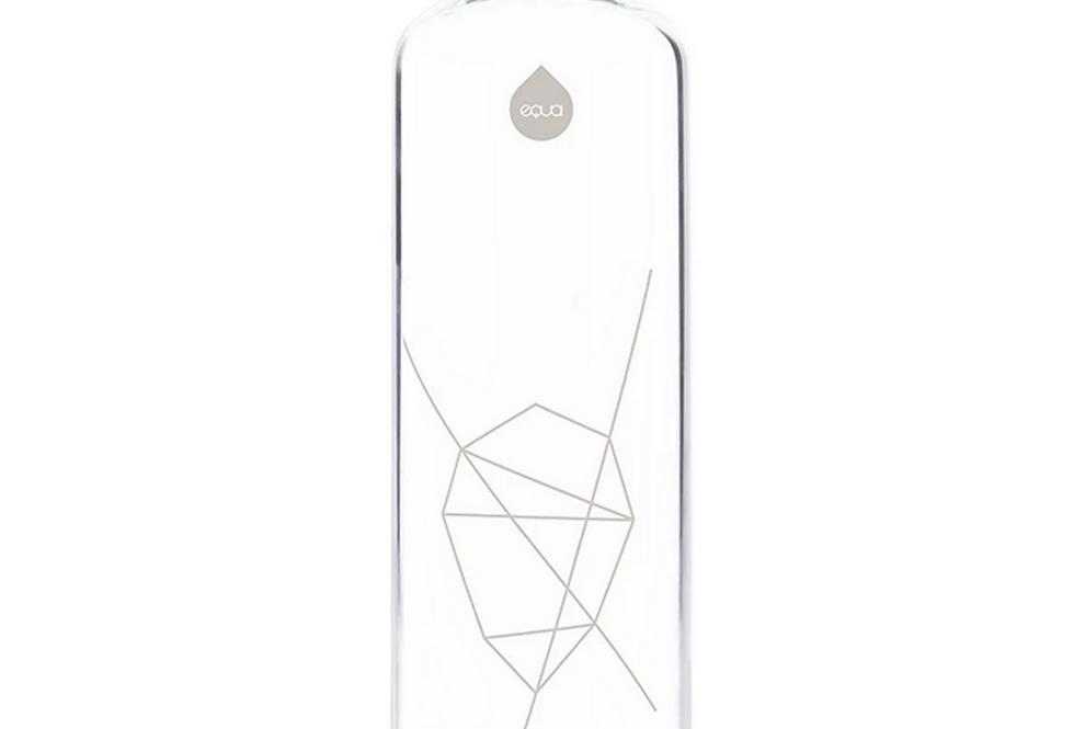 Rose Gold Glass Bottle - 750ml