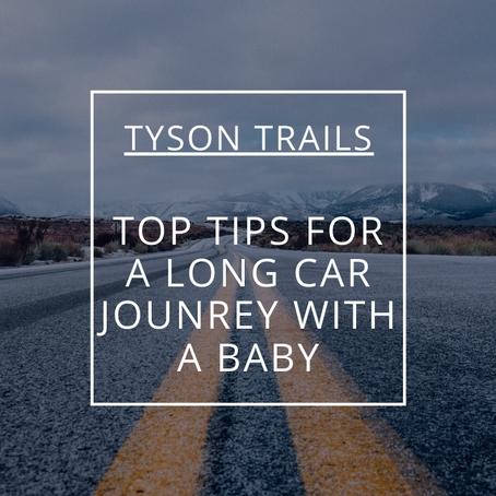 Top Tips for a Long Car Journey with a Baby