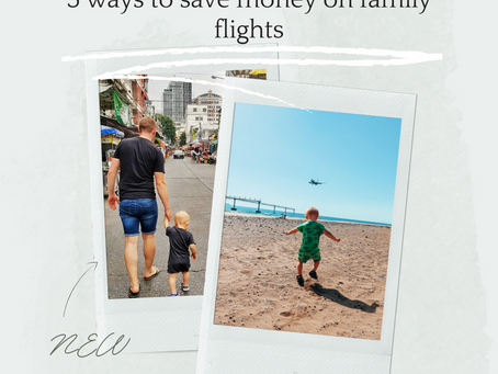 5 ways to save money on family flights