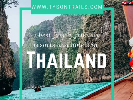 7 best family resorts and hotels in Thailand