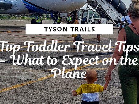 Top Toddler Travel Tips - What to Expect on the Plane