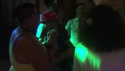 Späte Stunde Hochzeitsparty im Schloss