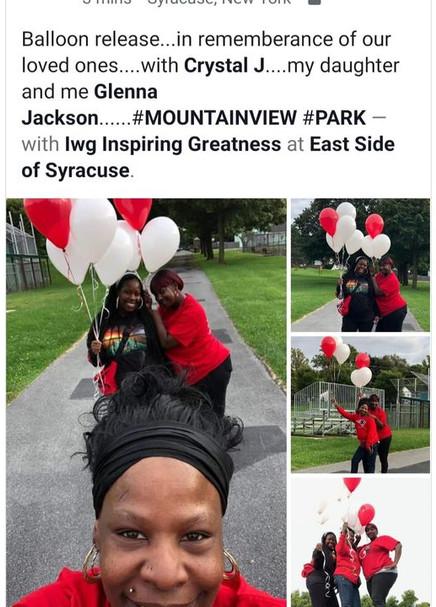Annual Balloon Release