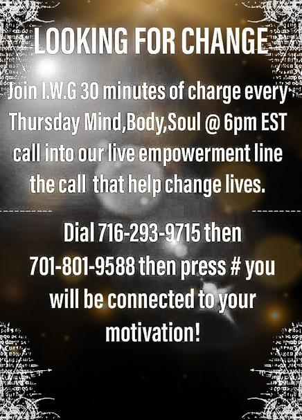 Empowerment Call Details